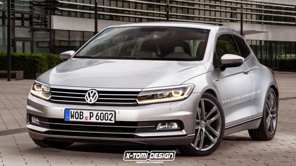 Volkswagen Scirocco rendering