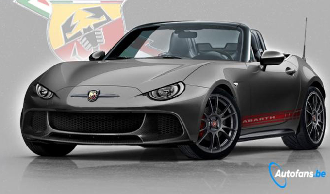 abarth 124 spider dal belgio un ipotesi del design. Black Bedroom Furniture Sets. Home Design Ideas