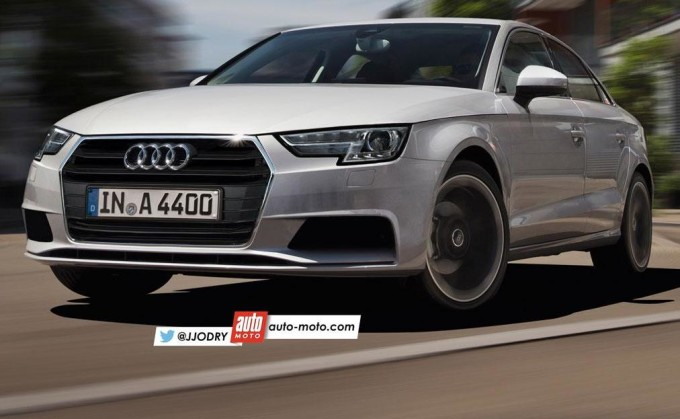 Audi A4 2016 - Rendering by Julien Jordy