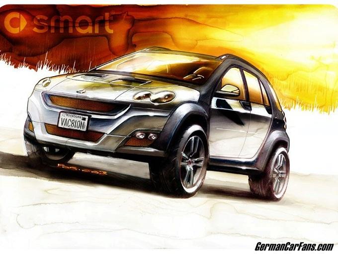 Smart SUV, Dieter Zetsche conferma il progetto