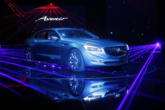 Buick Avenir Concept - Salone di Shanghai 2015