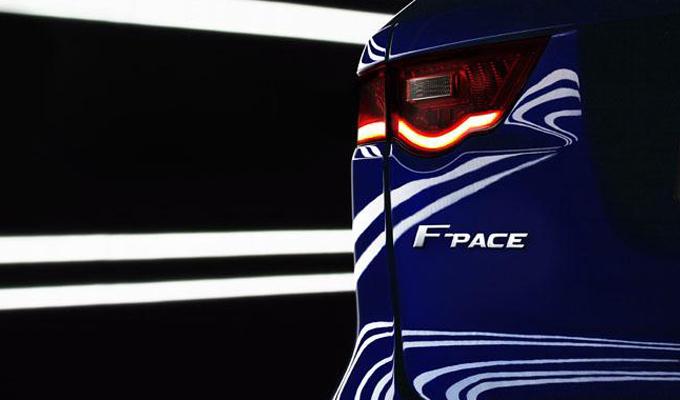 Jaguar F-Pace: il SUV del giaguaro atteso al Salone di Francoforte