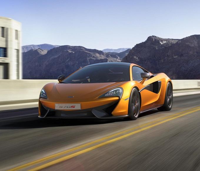 McLaren 570S GT4, l'idea sembra essere concreta