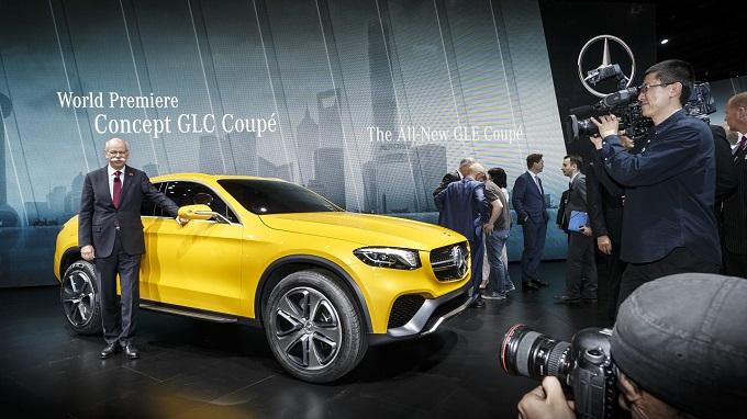 Mercedes Concept GLC Coupe - World Premiere Shanghai 2015