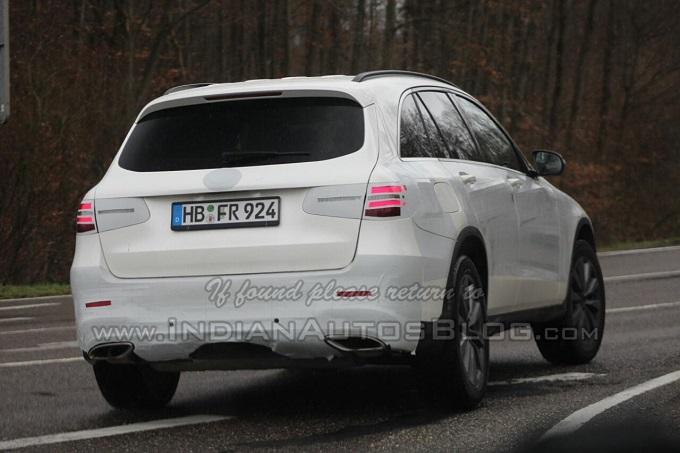 Mercedes GLC, è arrivata la prima FOTO SPIA