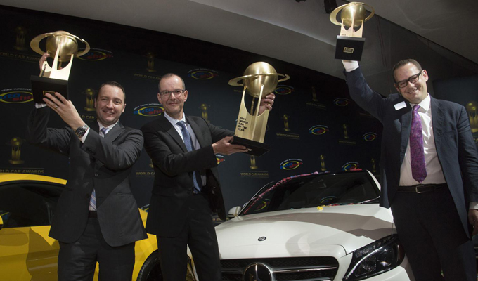 Mercedes svetta ai World Car of the Year awards 2015