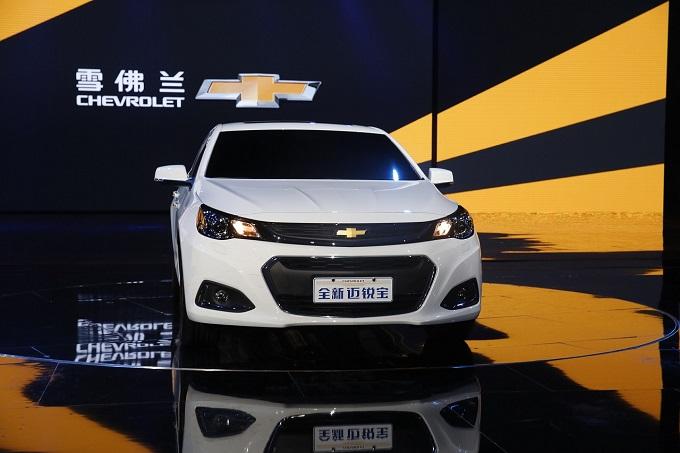 Nuova Chevrolet Malibu, l'ottava generazione della berlina in mostra a Shanghai