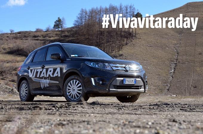 "Nuova Suzuki Vitara, con #Vivavitaraday incontra chi ""vive"" nel mondo digitale"