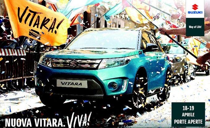 Nuova Suzuki Vitara, il 18 e 19 aprile 2015 arriva il Porte Aperte