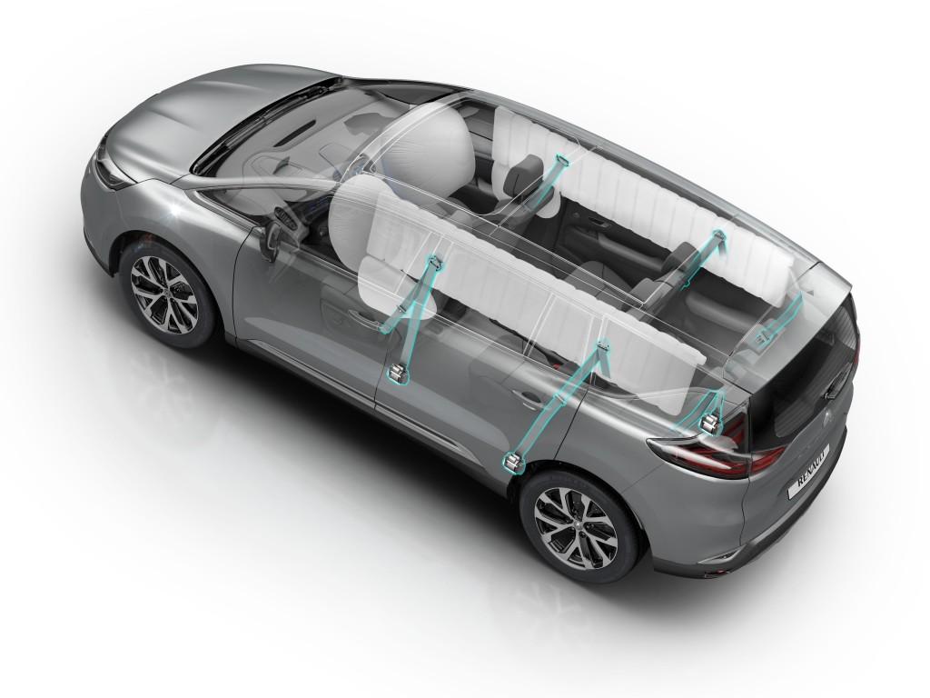 Nuovo Renault Espace ottiene le 5 stelle Euro NCAP [VIDEO]