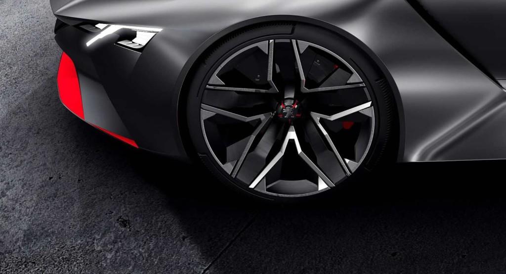 Peugeot, il puzzle della supercar concept si arricchisce di due nuovi teaser