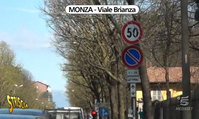 """Sicurezza stradale a Monza, """"Striscia la notizia"""" svela le criticità sulle strade"""