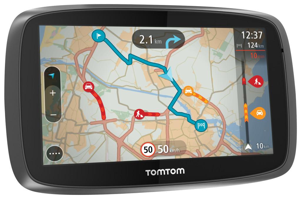 TomTom lancia quattro nuovi navigatori e la piattaforma web TomTom MyDrive