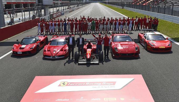Ferrari Racing Days: quasi 600 Ferrari, 5.000 clienti e fan colorano di rosso il Fuji Speedway