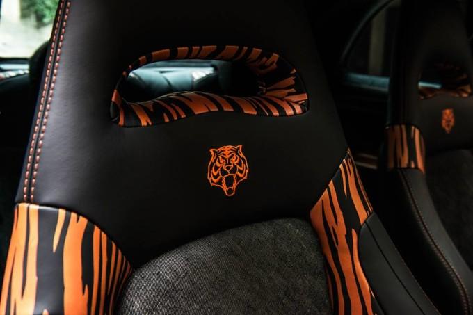 Abarth 500 Tiger, nuovi dettagli sulla personalizzazione di Garage Italia Customs
