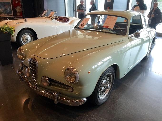 """Il concorso d'eleganza """"C'era una volta al Pincio"""" è stato assegnato ad una Alfa Romeo 1900"""