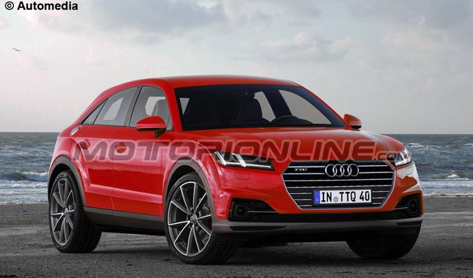 Audi TTQ: un nuovo modo di viaggiare off-road [RENDERING]