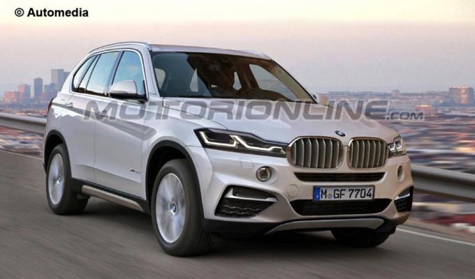 BMW X3 MY 2017: efficienza e dinamismo in un nuovo concetto [RENDERING]