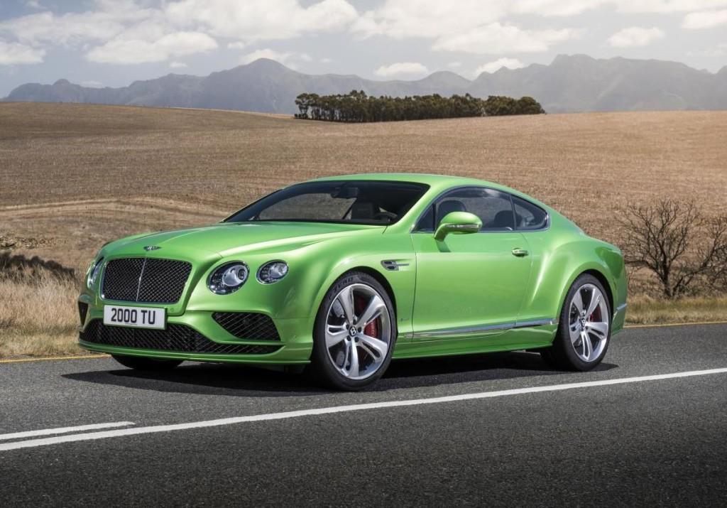 Bentley Continental GT, la nuova generazione potrebbe essere lanciata nel 2017