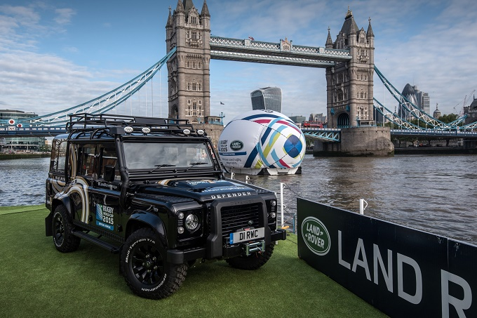 Defender Rugby World Cup 2015