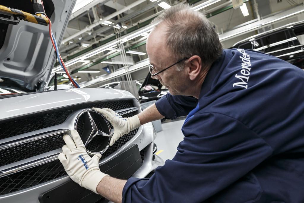 Daimler investirà 750 milioni di euro nell'impianto Mercedes di Brema