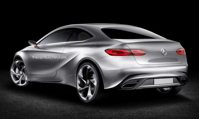 Mercedes Classe A Coupe - rendering (2)
