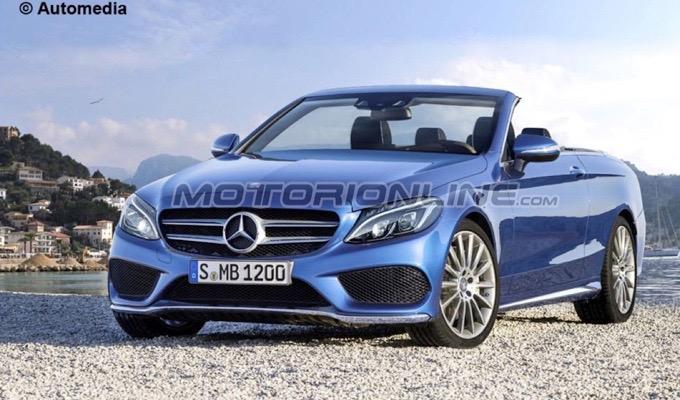 Mercedes Classe C Cabrio MY 2015: sarà così la prossima roadster della Stella? [RENDERING]