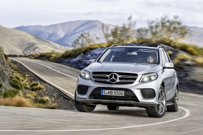 Mercedes GLE e GLE Coupe 8.5.2015