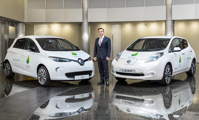 Renault-Nissan fornirà 200 veicoli elettrici alla prossima conferenza sul clima di Parigi