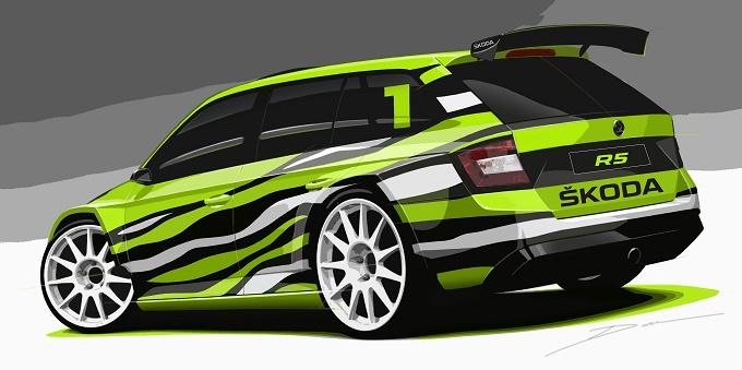 Škoda Fabia Combi R5 Concept, al Worthersee 2015 è in arrivo la nuova show car