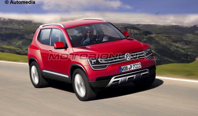Volkswagen Taigun My 2016 Il Piccolo Crossover Da Concept