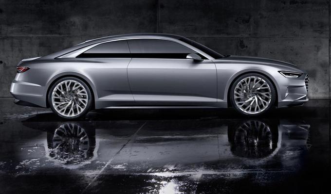 Audi A8 MY 2017: potrebbe essere dotata di schermi OLED e motori con e-turbo
