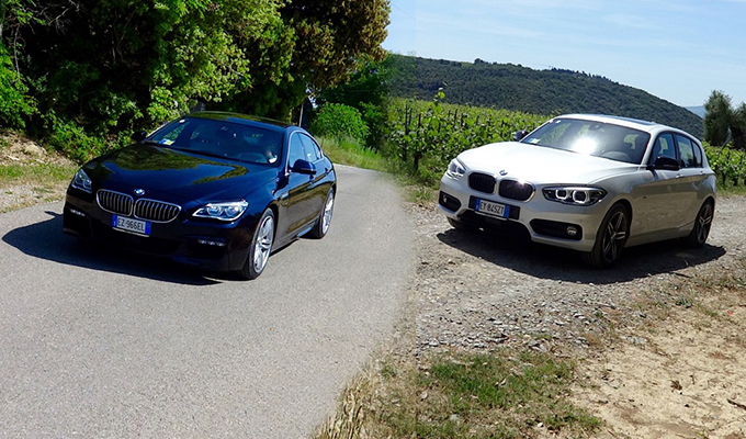 BMW Serie 1 e Serie 6 MY 2015, testa-coda d'alta classe bavarese [VIDEO PRIMO CONTATTO]
