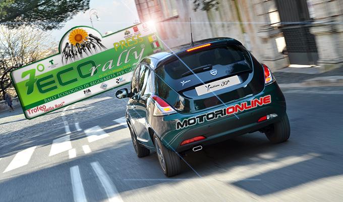 Ecorally 2015: Motorionline ai nastri di partenza con la Lancia Ypsilon 30th Anniversary Natural Power