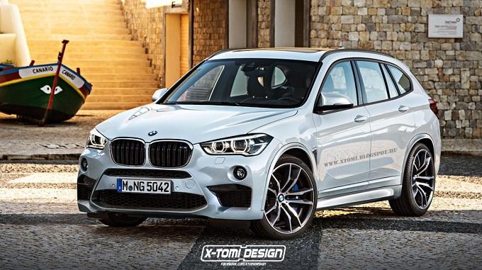 BMW X1 M, il nuovo crossover compatto vuol essere ancora più sportivo [RENDERING]