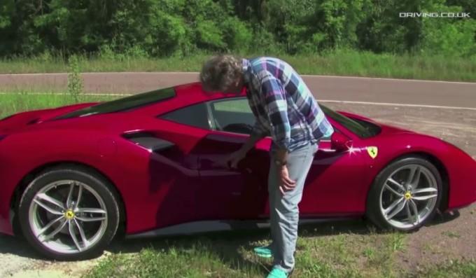 Ferrari 488 GTB: il test drive di James May [VIDEO]
