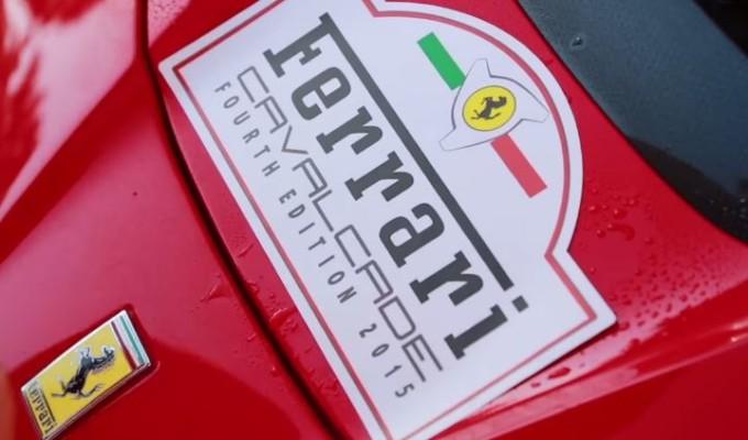 Ferrari Cavalcade 2015: la passione per il Cavallino invade Roma e dintorni [VIDEO]