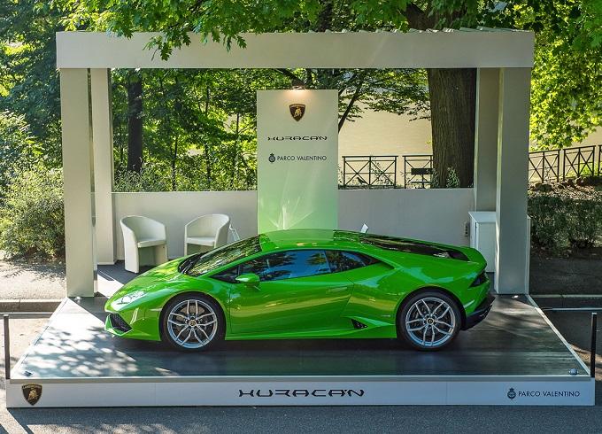 Lamborghini Parco del Valentino Salone Gran Premio