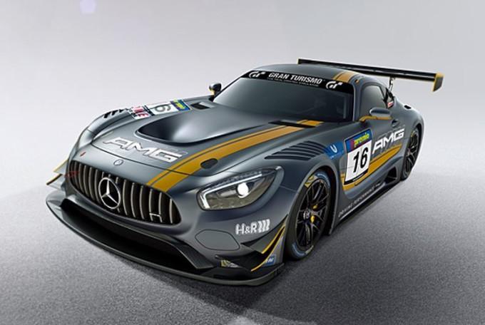 Mercedes AMG GT3 pronta per il debutto in gara nel campionato VLN