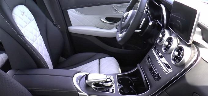 """Mercedes GLC, una """"prima sbirciata"""" agli interni del nuovo SUV sportivo [VIDEO]"""