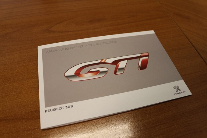 Nuova Peugeot 308 Gti