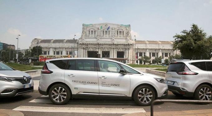 Nuova Renault Espace, il progetto First Class Journey riparte da Milano
