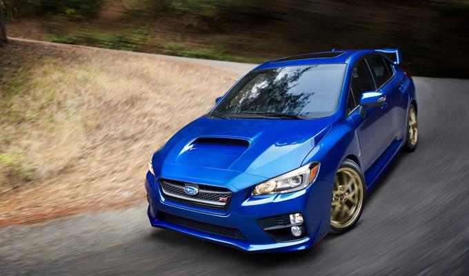 Subaru a Parco Valentino Salone & Gran Premio espone i modelli Outback e WRX STI