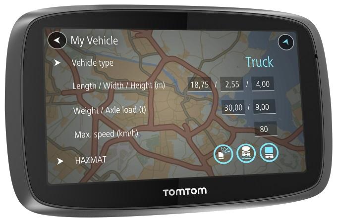 TomTom TRUCKER 6000, il sistema di navigazione pensato per tutti i camionisti