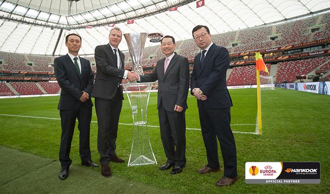 Hankook ed Europa League: prolungata la sponsorizzazione con l'UEFA fino al 2018