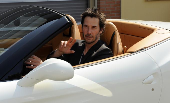 """Keanu Reeves: """"La Ferrari è un sogno"""""""
