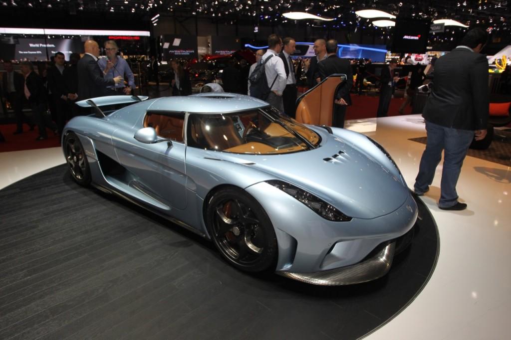 Koenigsegg Regera in vendita a 2,1 milioni di euro