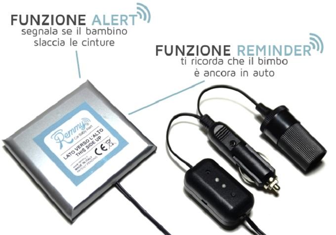 Bimbi in auto: i sistemi di allarme per non dimenticarli sul seggiolino diventeranno obbligatori