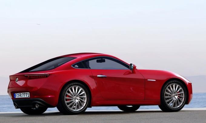 Alfa Romeo GTV, stuzzicante idea di un ritorno a forma di coupé [RENDERING]