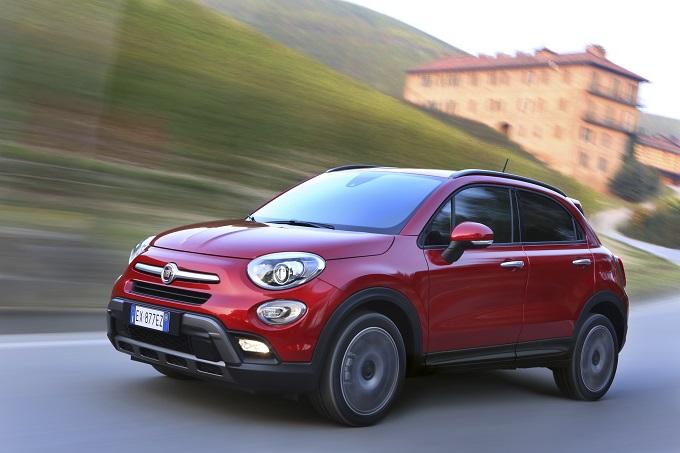 Fiat 500X si affida a Bridgestone per gli pneumatici